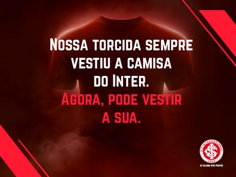 Inter lança concurso para torcedor desenhar nova camisa do clube