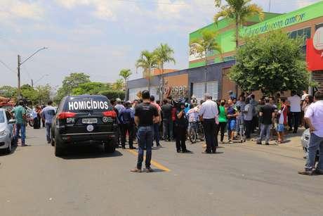 Estudante de 14 anos atirou dentro do Colégio Goyases, escola particular de ensino infantil e fundamental em Goiânia (GO)