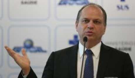 O ministro da Saúde, Ricardo Barros, quer concorrer à reeleição de deputado federal.