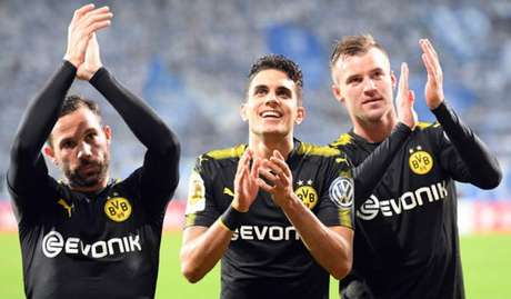 Borussia Dortmund goleia e avança na Copa da Alemanha