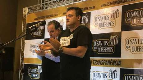 Nabil Khaznadar, à esquerda, e Fabio Pierry, à direita (Foto: Russel Dias)