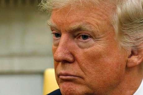 Presidente dos Estados Unidos, Donald Trump, na Casa Branca, em Washington 20/10/2017 REUTERS/Jonathan Ernst