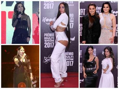 Looks das famosas em premiação (Fotos: AgNews)