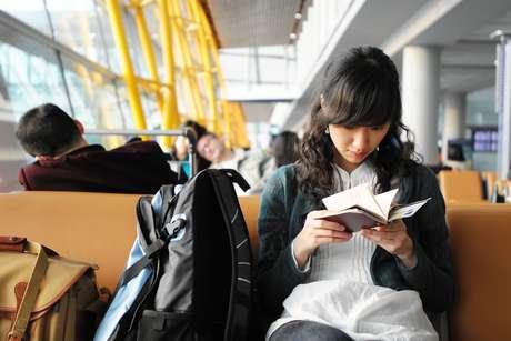 Os livros são ótimas opções para passar o tempo