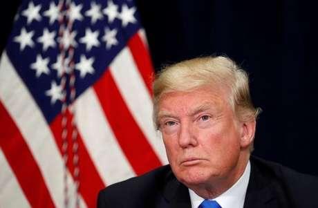 Trump em evento em Dallas, Texas 25/10/ 2017 REUTERS/Kevin Lamarque