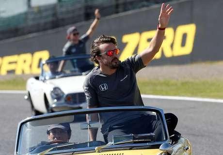 Piloto de F1 Fernando Alonso 08/10/2017 REUTERS/Toru Hanai