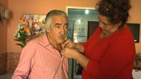 Cabelada durante gravação do documentário (Foto: Divulgação)