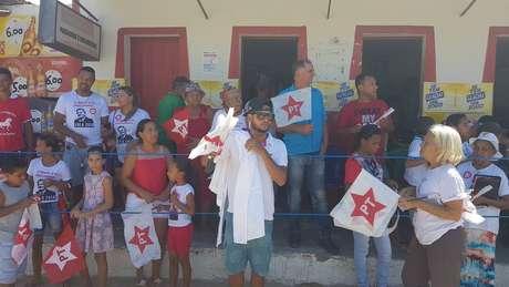 Eleitores do PT em Itinga