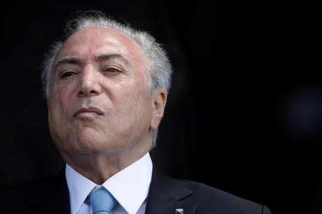 Temer participa de cerimônia em Brasília