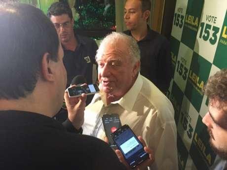 Mustafá Contursi é um dos conselheiros mais influentes do Palmeiras (Foto: Thiago Ferri)