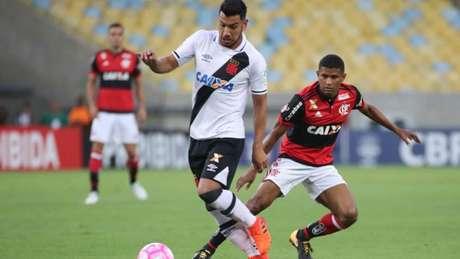 O jogo foi tenso, mas o Flamengo teve mais chances de gol (Gilvan de Souza / Flamengo)