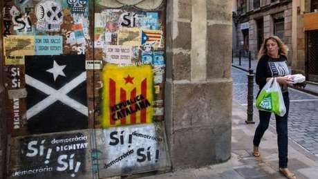 Grafite pró-separação em Barcelona