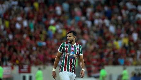 Sem esquecer do Fla-Flu, Henrique Dourado destacou importância de vencer o Bahia (Foto: Lucas Merçon/F.F.C.)