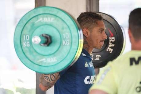 Atacante não atua desde o jogo contra o Bahia, na Ilha do Urubu(Gilvan de Souza / Flamengo)