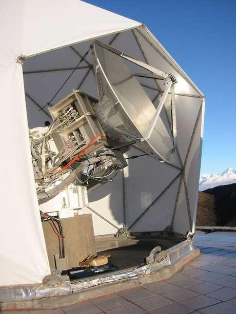 O Solar-T é um telescópio fotométrico duplo pensado e construído pelo Mackenzie em parceria com a Unicamp