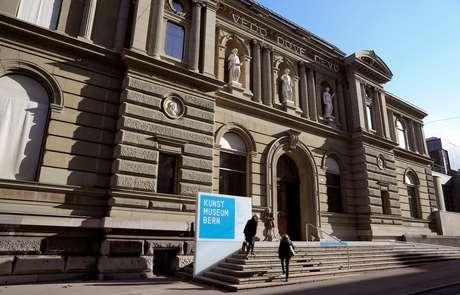 Vista geral do museu de arte de Berna