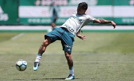Dudu tem vaga assegurada entre os titulares - FOTO: Cesar Greco/Palmeiras