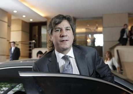 Ex-vice-presidente da Argentina Amado Boudou, em Buenos Aires 25/11/2011  REUTERS/Enrique Marcarian