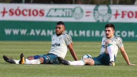 Borja está em alta, mas Willian volta a ficar disponível: quem joga? - FOTO: Cesar Greco/Palmeiras