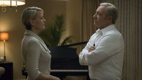 Robin Wright e Kevin Spacey