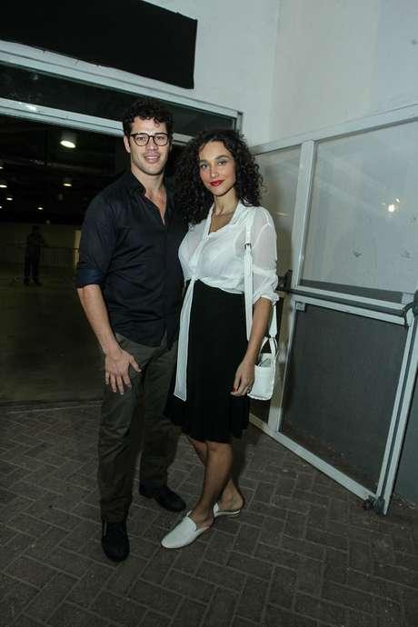 José Loreto e Debora Nascimento (Foto: AgNews)