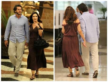 Fátima Bernardes e o namorado Tulio Gadelha (Fotos: Thiago Martins/AgNews)
