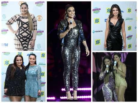 Looks das famosas no Festeja Brasil (Fotos: Wallace Barbosa/AgNews)