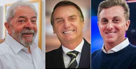 Lula, Jair Bolsonaro e Luciano Huck: possíveis candidatos à Presidência apostam tudo no poder da TV