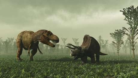 Dinossauros entraram em extinção há cerca de 65 milhões de anos