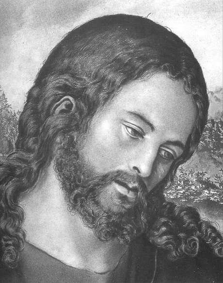 Um Cristo modesto (tela de Lucas Cranach, 1472-1553)