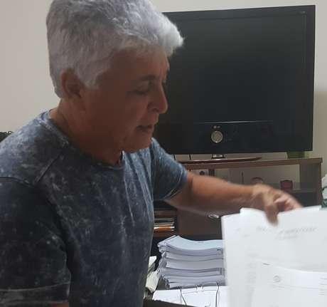 Moisés Campos de Lima, 62 anos, foi chefe da segurança da Seleção brasileira na Copa de 1994, nos EUA.