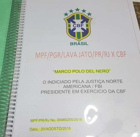 Ele preparou ao longo dos últimos anos 46 dossiês sobre desvios na CBF. Todo o material está em poder do MPF no Rio.