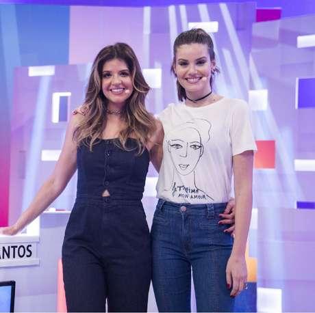 Mariana Santos e Camila Queiroz