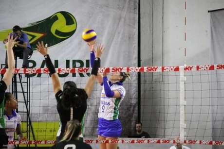 Caponesa/Minas assume a quarta colocação da Superliga feminina (Neide Carlos/Vôlei Bauru)