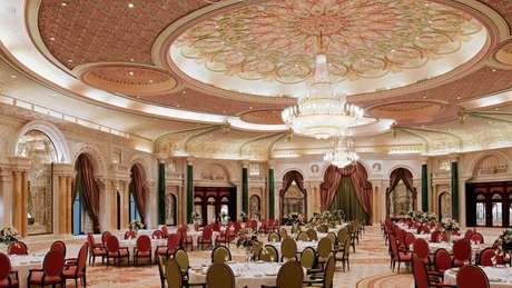 O salão B do hotel Ritz-Carlton em Riad (Crédito: web Ritz-Carlton Riad)