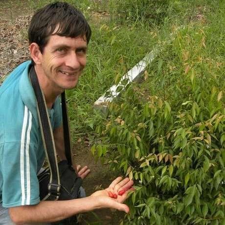 Desde os 14 anos, Helton Muniz se dedica a cultivar espécies pouco conhecidas em seu sítio, no interior de São Paulo Foto: Arquivo pessoal