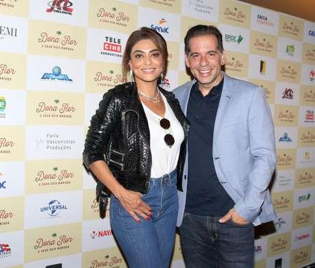 Juliana Paes e Leandro Hassum (Fotos: Thiago Duran/AgNews)