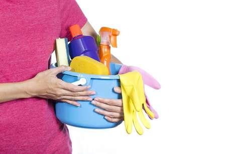Com o seu kit de limpeza organizado, suas tarefas serão realizadas com mais agilidade e eficiência