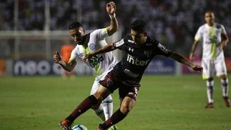 Chapecoense abriu 2 a 0 no placar, mas São Paulo conseguiu buscar o empate (Foto: Luis Moura / WPP)