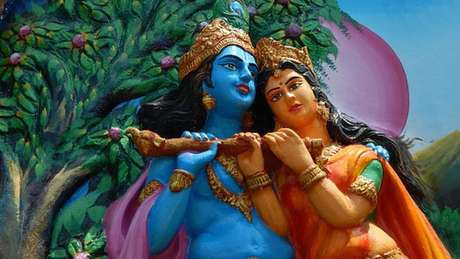 Imagem de Krishna e Radha