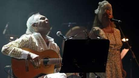 Gilberto Gil no palco