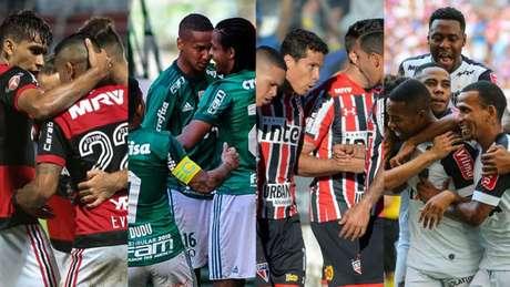 Além do trio visto como favorito, desempenho do São Paulo é criticado (Gilvan de Souza/Maurício Rummens/Celso Pupo/Bruno Cantini)