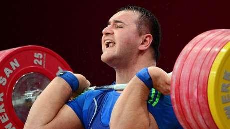 O levantamento de peso russo não participou da Rio-2016