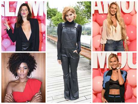 Looks das famosas no Glamour Beauty Festival