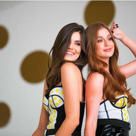 Camila Queiroz e Marina Ruy Barbosa em campanha da Pantene