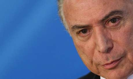 Presidente Michel Temer durante cerimônia no Palácio do Planalto, em Brasília 12/09/2017 REUTERS/Adriano Machado