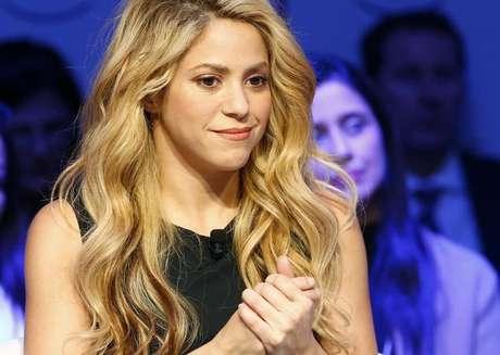 Shakira durante evento em Davos  17/1/2017    REUTERS/Ruben Sprich