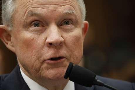 Sessions presta depoimento em Washington 14/11/2017   REUTERS/Aaron P. Bernstein