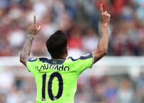 Coutinho está no Liverpool desde 2012 (Foto: Reprodução/Twitter Liverpool)