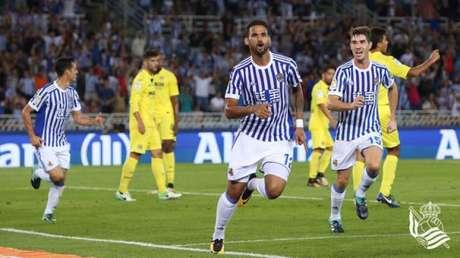 Willian José já marcou oito gols em 15 jogos na atual temporada (Foto: Real Sociedad)